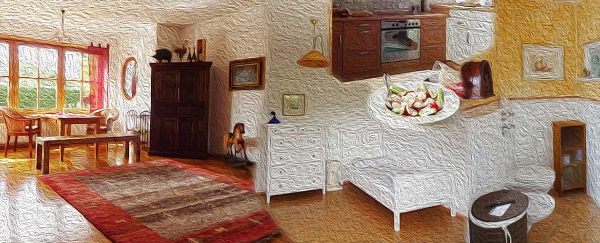 Die Lebensräume: Wohnzimmer U2013 Küche U2013 Badezimmer U2013 Schlafzimmer, Badezimmer  Ideen